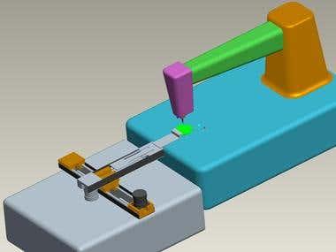 Designing & Simulation of Football Sewing Robot