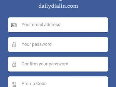 Daily Dial In Mobile App