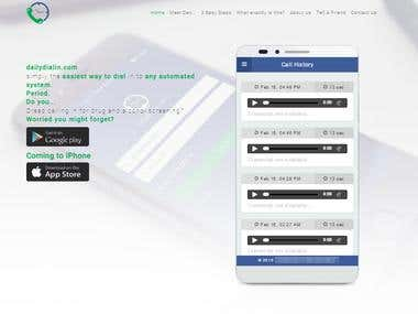 Daily Dial In Web App