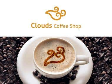 Logo Clouds Coffe Shop