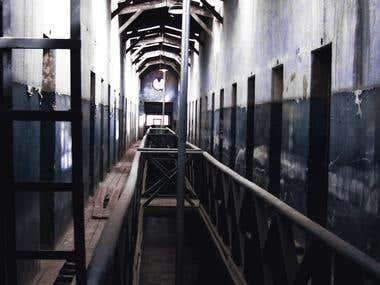 Photo - Jail Hallway Ushuaia