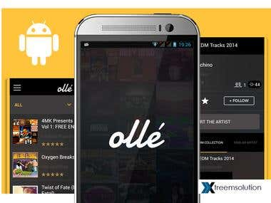 Music app - Olle