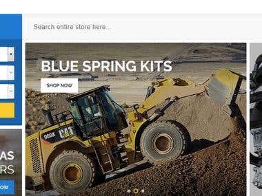Automotive E-Commerce Store - Magento