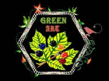 Green Art Logo