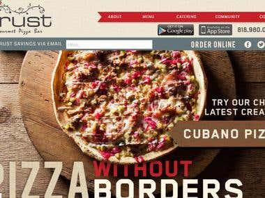 Wordpress - Online Pizza Order
