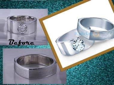 Jewelry  Image Retouch and Enhancement