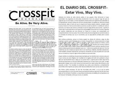 Series of Crossfit Articles: English to Spanish