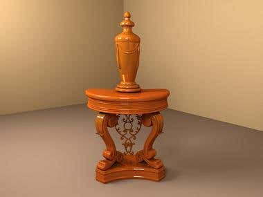 Furniture 3d modeling