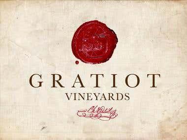 Logo Gratiot Vineyards