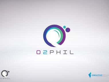 O2 Phil Call Center Logo & Business Design