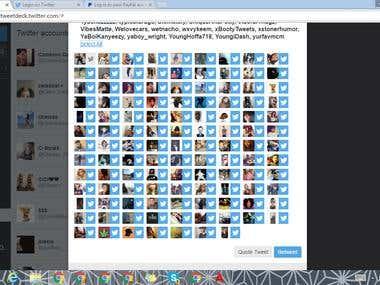 Tweetdeck Network