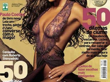 Award-winning cover magazine
