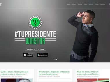 Website Design - Winstar