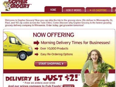 Copy and Paste Product Info From Website GOPHER GROCERY