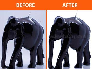 Elephant Background Remove