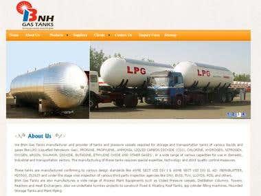 BNH Gas Tanks