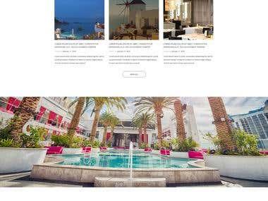 Hotel site restaurant site