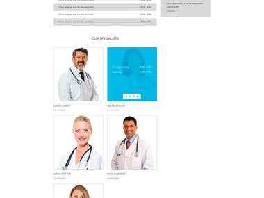Hospital clinic site