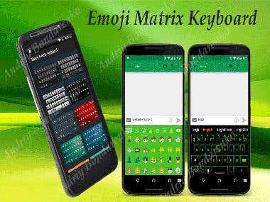 Emoji Matrix Keyboard