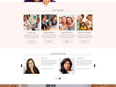 non profit charity organization site