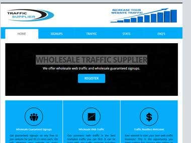 Traffic Supplier