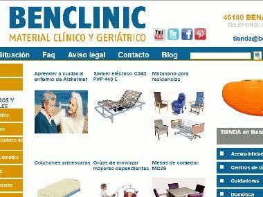 Benclinic PHP CMS Wordpress