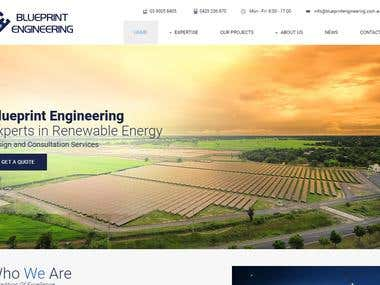 Website Development for Engineering Company