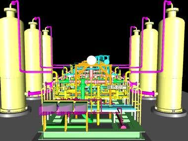 PIPING 3D MODEL