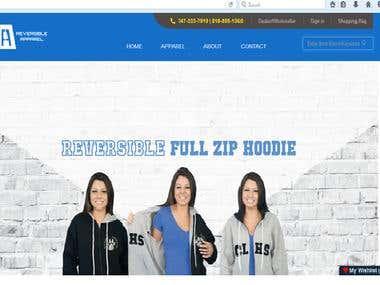 Online Shopping Magento Website