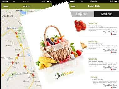 G Sales fruit & vegitable App