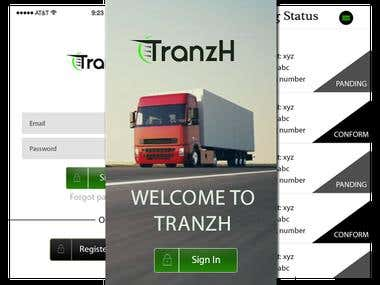 Tranzh-Courier App