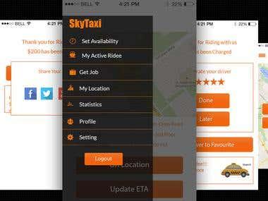 Skytaxi- Taxi App