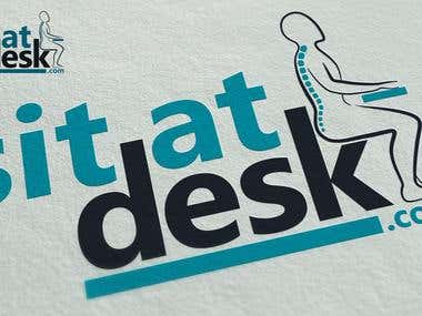 Sit at desc logo design