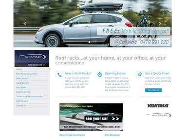 Roof Rack website