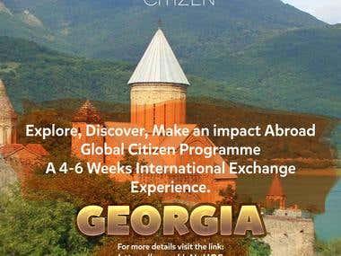 Globel ctizen Posters For AiESEC