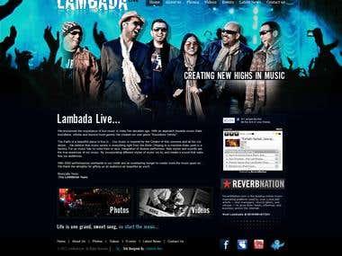 Website for Lambada India