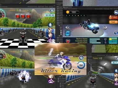 Killer Racing (Unity 3D)