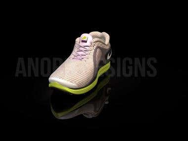 CGI Shoe_animation