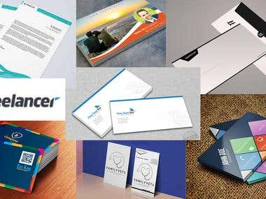 Expert in Business Card and Stationery Design