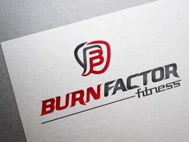 Burn Factor Fitness (Logo )