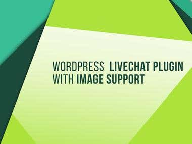 Wordpress Livechat Plugin with Image Support