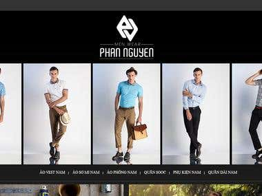 Website for Phan Nguyen company