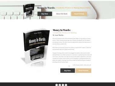 Author Website Design (Website Design)