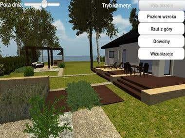 Landscape design framework