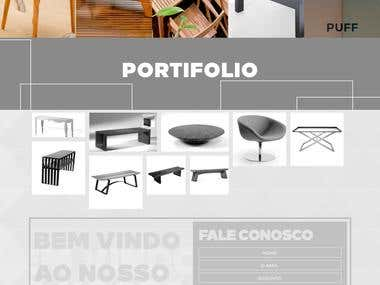 Web site development and Design for Brazilian Client