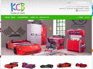 Content Writing for kiddie car beds