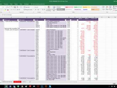 Financial modeling for Business Plan by Pivot Table and VBA