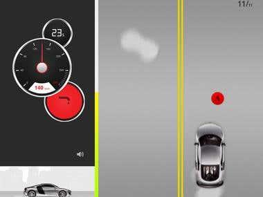 Audi facebook app
