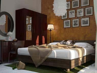 bedroom design at salem