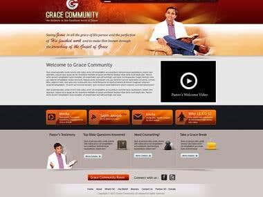 Website for Pastor Sajith Joseph